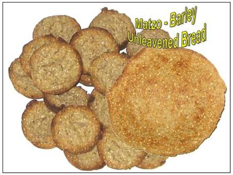 Chag HaMatzot Sameach! Happy Feast of Unleavened Bread!