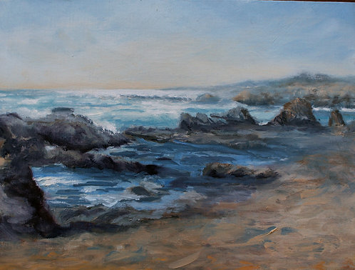 Incoming Tide 9x12