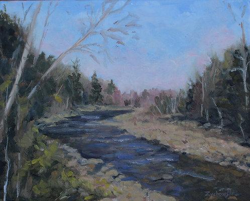 New Hampshire River   8x10