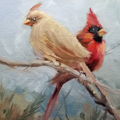 Cardinals for Mary