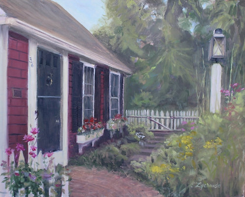 The Red Cottage   8x10