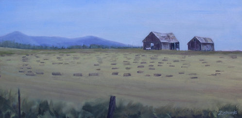 Logging Creek Barns  8x16