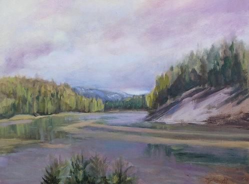 Yellowstone River  9x12