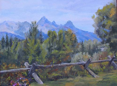 Mountain Majesty   9x12