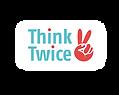 think twice actie knop_Tekengebied 1 kop