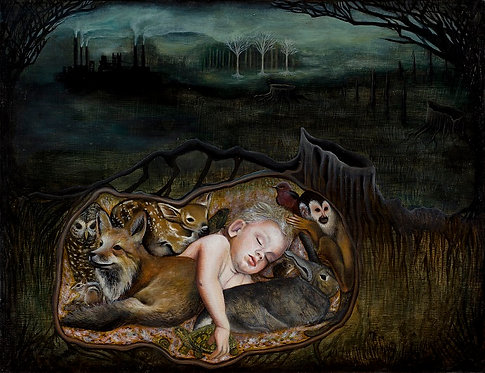 In the Blanket of Mother Earth