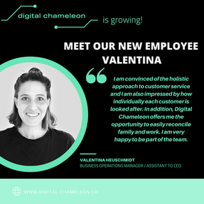 Meet our new team member: Welcome to the team Valentina!