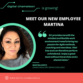 Meet our new team member: Welcome to the team Martina!