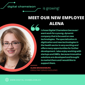 Meet our new team member: Welcome to the team Alena!