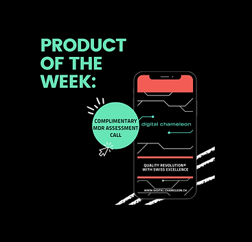PRODUCT OF THE WEEK 💥Complimentary MDR Assessment  💥