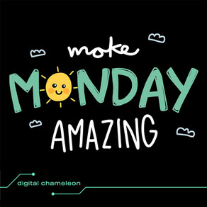 """The Bangles once sung """"it's just a another manic Monday"""" 🎵 - but who says Mondays can't be happy day"""