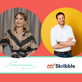 💥NEWS💥: Skribble and Digital Chameleon GmbH form a strategic partnership!