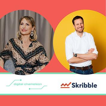 💥NEWS💥: Skribble and Digital Chameleon GmbH form a strategic partnership!