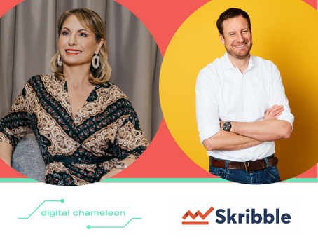 Skribble and Digital Chameleon form a strategic partnership