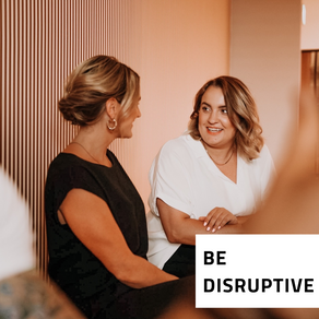 One of our (4) principles is Be Disruptive 💪🏼
