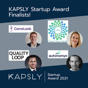 KAPSLY AWARD 2021: Here are the finalists!