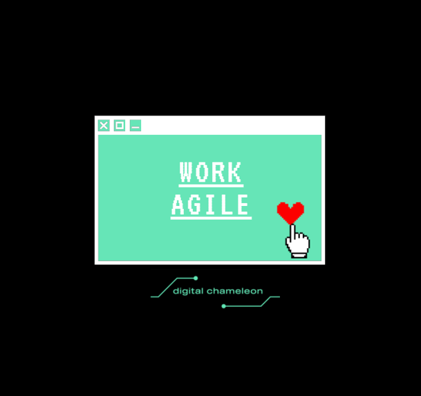 🏋️♀️ One of our [4] principles: Work Agile ♟️