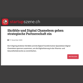 Digital Chameleon in Startupszene.ch 🚀