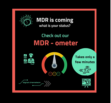 The new MDR is getting closer and you are uncertain what your current status is❓❕⏰