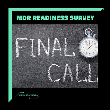 👉ONLY A FEW DAYS LEFT: Take part in our MDR readiness survey ️ ❗️❕ 😀