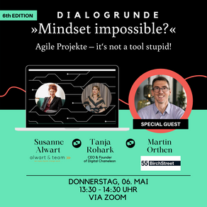 »Mindset Impossible?« Agile Projekte – it's not a tool, stupid!