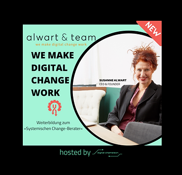 It is a special honor for Digital Chameleon to welcome next year alwart+team in Basel for the training »Systemic Change Consultant«