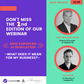 Second Edition: Webinar: EU AI Regulation - What does it mean for my business?