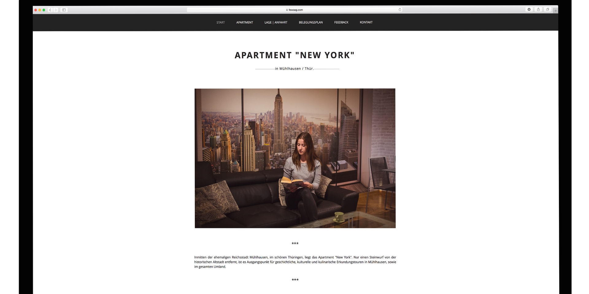 "Apartment ""New York"""
