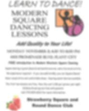 Modern Square Dance Lessons Flyer REV.jp