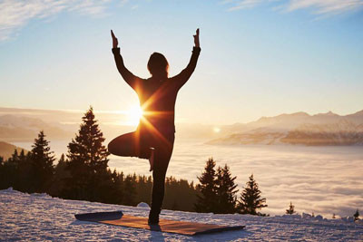 Benefits of hot yoga in the winter!