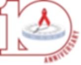 HIV Aging 10th anniversary logo.png