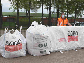 Pressemitteilung zur Entsorgung von Asbest und Dämmwolle vom WZV