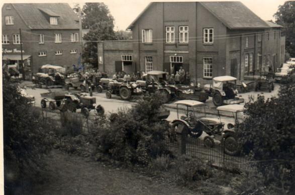 Letzter Anleferungstag Meierei Seth 1965