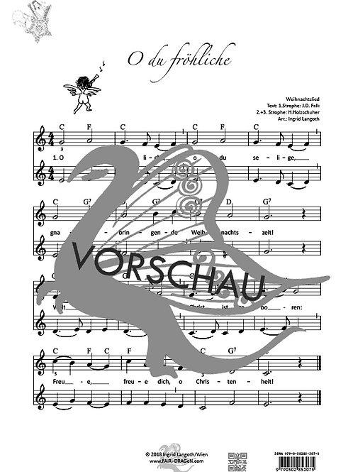 O du Fröhliche (2-stimmig+Begleitung)