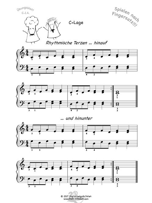 C-1.4. Rhythmische Terzen