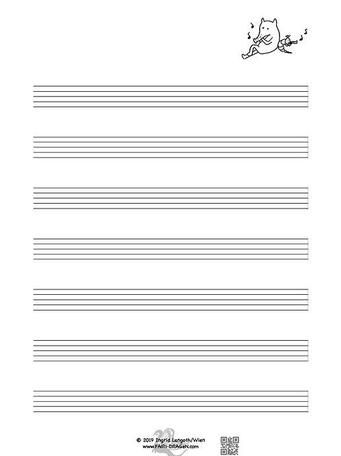 Notenpapier R13