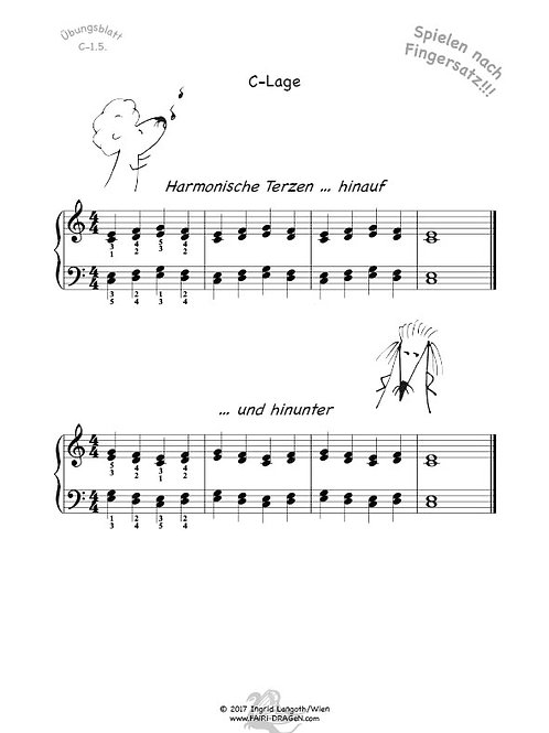 C-1.5. Harmonische Terzen