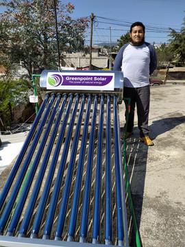 Calentador Solar de 110 Tubos