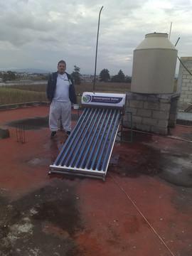 Calentador Solar de 10 Tubos