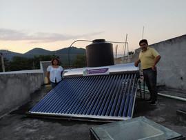 Calentador Solar de 24 Tubos