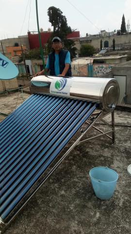 Calentador Solar de 12 Tubos