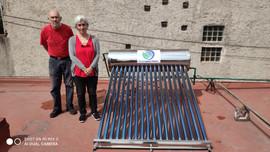 Calentador Solar de 18 Tubos