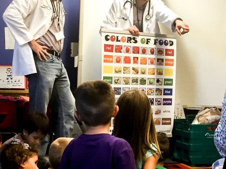Food, Fun, Fitness Event at Bradley Elementary School