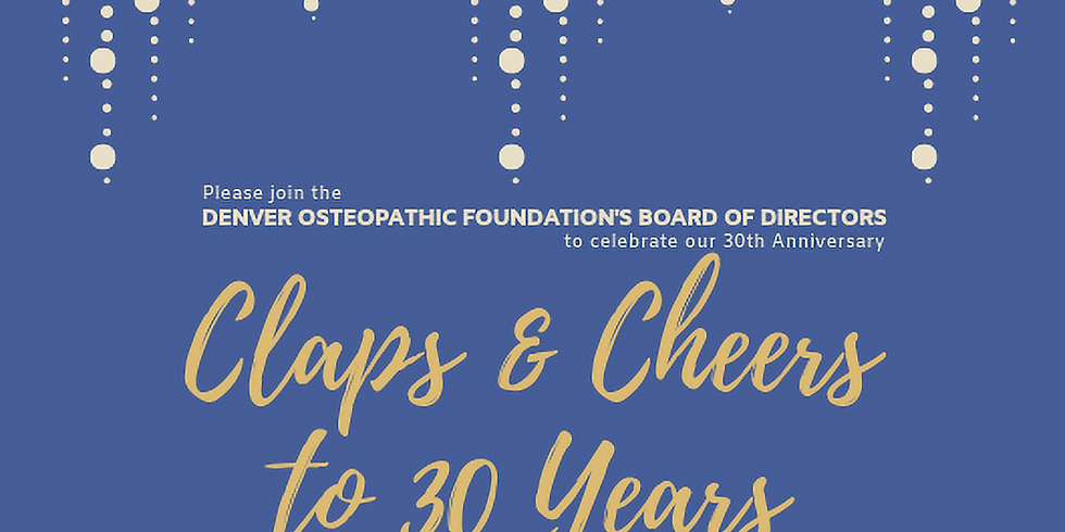 Claps and Cheers to 30 Years