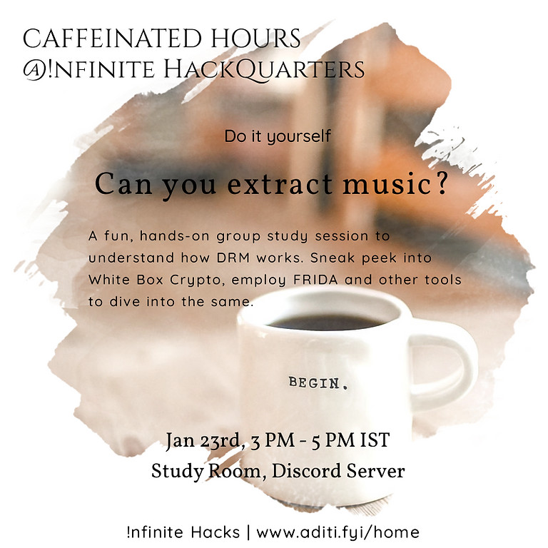 Caffeinated Hours | Can you extract music?
