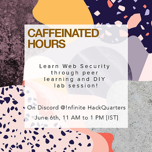 Caffeinate Hours   Web Security for Beginners