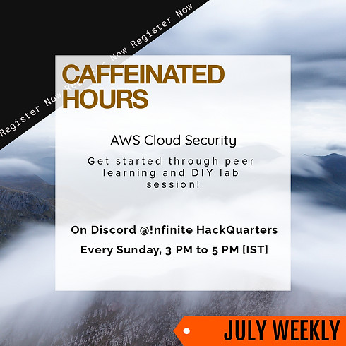 Caffeinated Hours |  Weekly DIY Lab Session