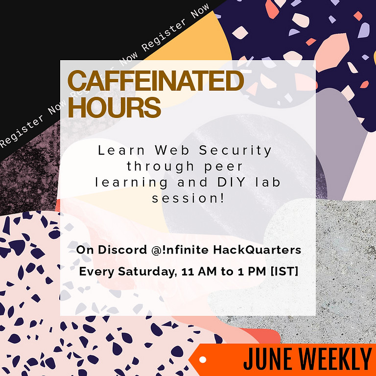 Caffeinate Hours | Weekly Web Security Lab - 3