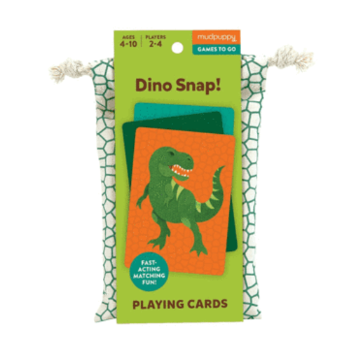 Mudpuppy - Dino Snap - Playing Cards