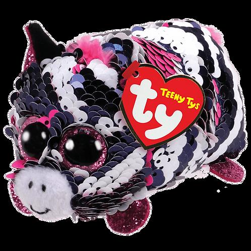 TY - Zoey Sequin Zebra - Teeny Tys